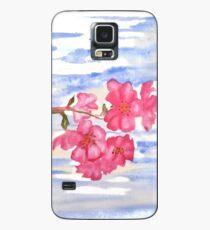 Kirschblüten Hülle & Klebefolie für Samsung Galaxy
