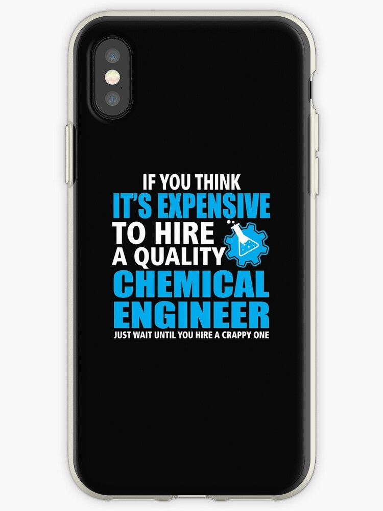 competitive price 0cac2 7d0ee 'Cool T-Shirt For Chemical Engineer. Gift Ideas For Dad.' iPhone Case by  Nam Nguyen