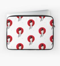 Lady of the Rising Sun Painting Laptop Sleeve