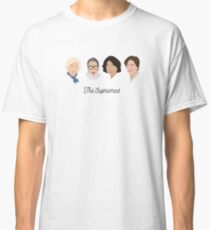 The Supremes (black text/white background) Classic T-Shirt
