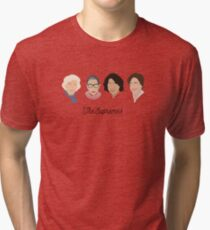 The Supremes (black text/white background) Tri-blend T-Shirt