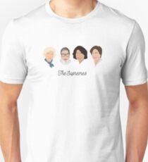 The Supremes (black text/white background) Unisex T-Shirt