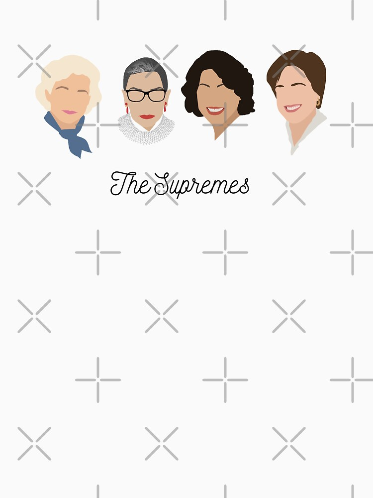 The Supremes (black text/white background) by thefilmartist