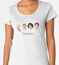 The Supremes (black text/white background) Women's Premium T-Shirt