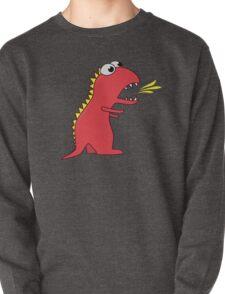Fire Breathing Cute Cartoon Dinosaur T-Shirt