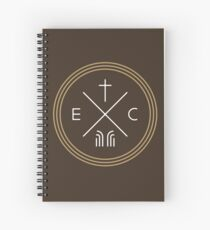 Exodus Seal  - White Lettering Spiral Notebook