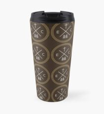 Exodus Seal  - White Lettering Travel Mug