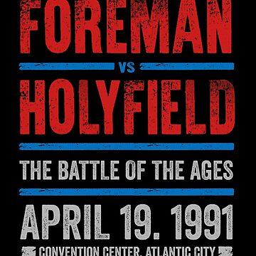 Foreman vs Holyfield by TeeMonsters