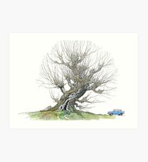 The Whomping Willow Art Print