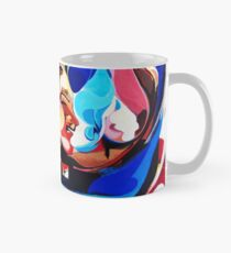 Expressive Abstract People Composition painting Classic Mug