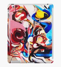 Expressive Abstract People Composition painting iPad Case/Skin