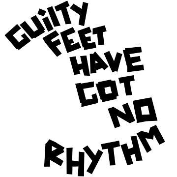 Arctic Monkeys - GUILTY FEET HAVE GOT NO RHYTHM by barnzeydesigns
