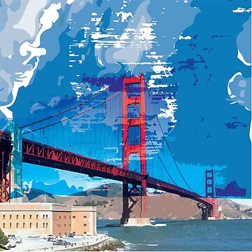 Golden Gate Bridge by aloudercharm