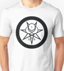 Aleister Crowley '666' Number of The Beast Unisex T-Shirt