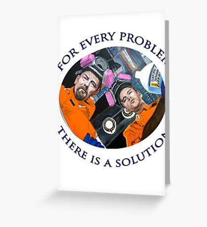 For Every Problem Greeting Card