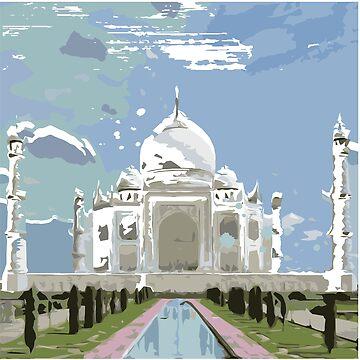 Taj Mahal by aloudercharm