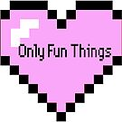 Pixel OFT Heart Only Fun Things by lunariamoon