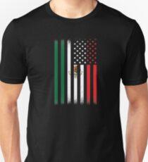 Mexikanische amerikanische Geschenke Slim Fit T-Shirt