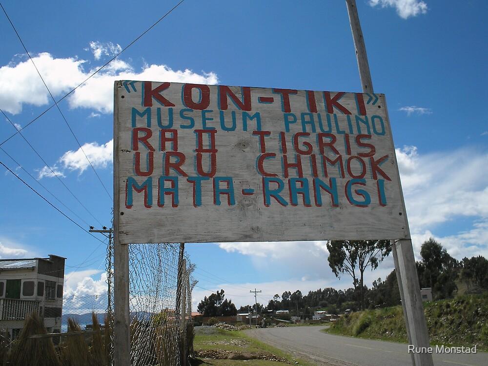 Kon Tiki by Rune Monstad
