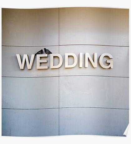 wedding ahead Poster