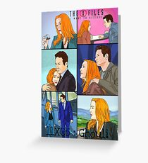 X files 11X05 Ghouli by Mimie Greeting Card
