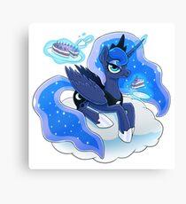 Magnificent Luna Canvas Print