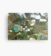 Mineralien Metallbild