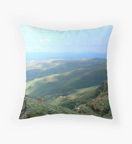 The SANI PASS Throw Pillow