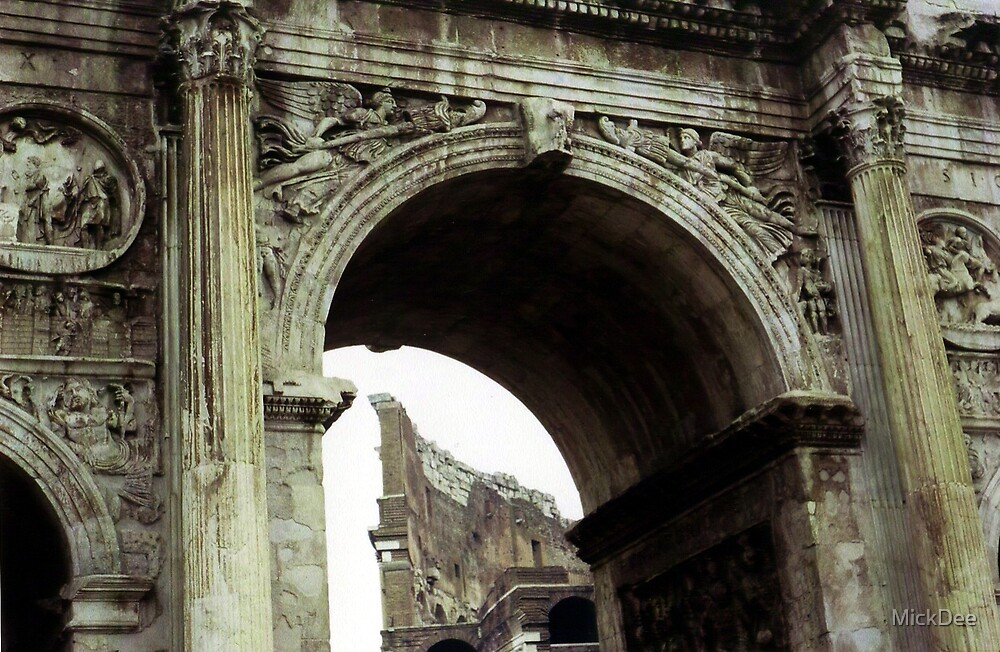 Arch of Constantine by MickDee