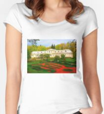 """Absolute Beauty"", Photo / Digital Painting Women's Fitted Scoop T-Shirt"