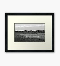 """Marsh"" Low Tide Framed Print"