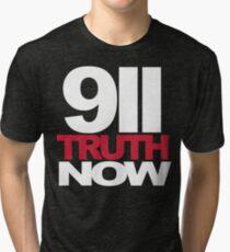 9/11 Truth Now Tri-blend T-Shirt