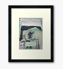 LA Exterior Framed Print