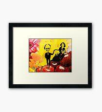 Deb and Bill Framed Print