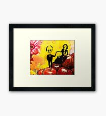 Deb and Bill Framed Print