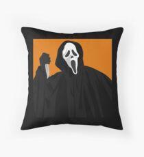 Scream / Ghostface Throw Pillow