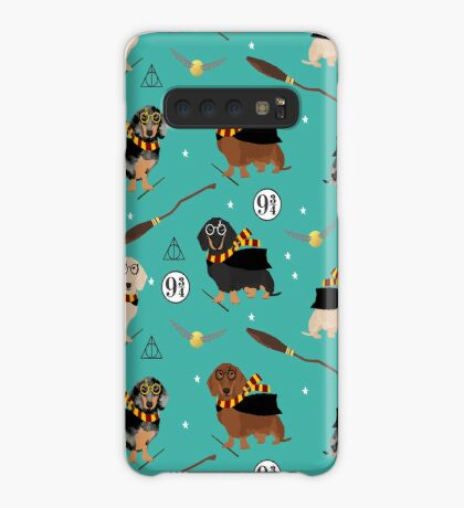 dachshund witch wizard dog breed magic gifts Case/Skin for Samsung Galaxy