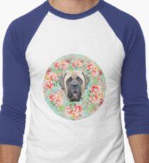 Flower Brim Men's Baseball ¾ T-Shirt
