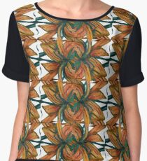 Earth, Wind and Fire Pattern Chiffon Top