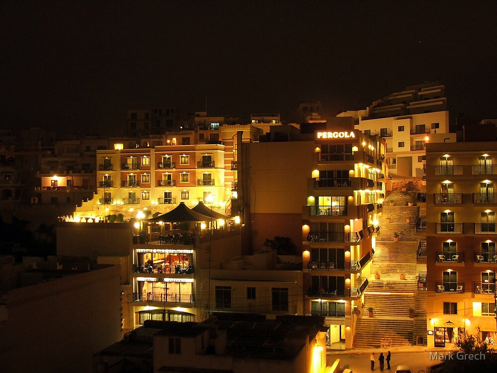 MELLIEHA BY NIGHT by Mark Grech