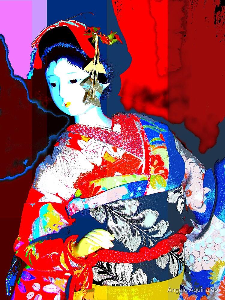 Japanese Doll by Angelo Aguinaldo