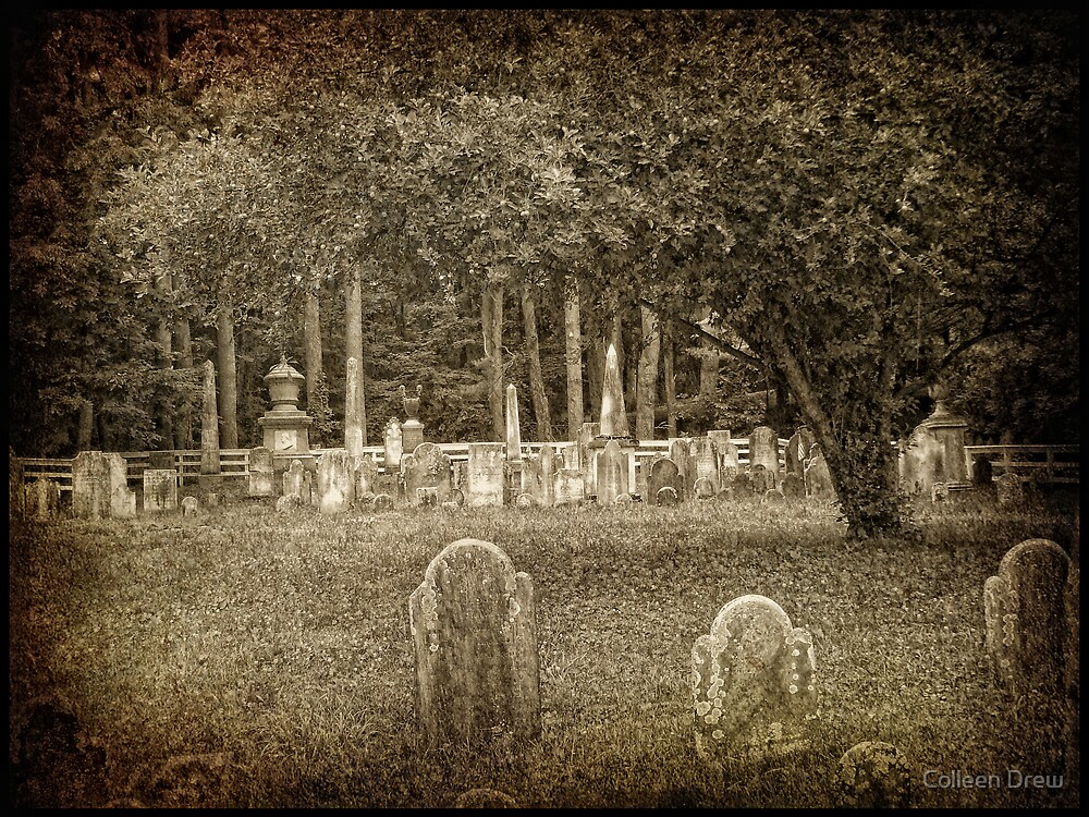 Old Cemetery by Colleen Drew