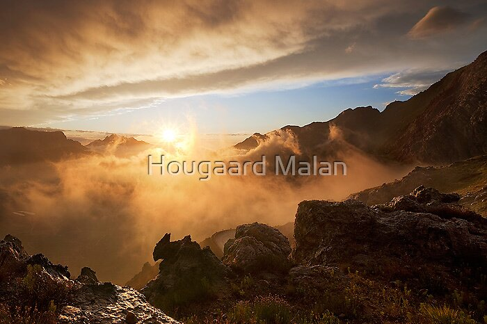 Edge of the World by Hougaard Malan