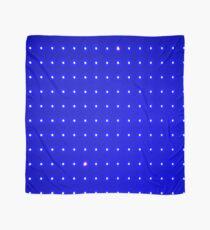 Blauer Punkt Raster Tuch
