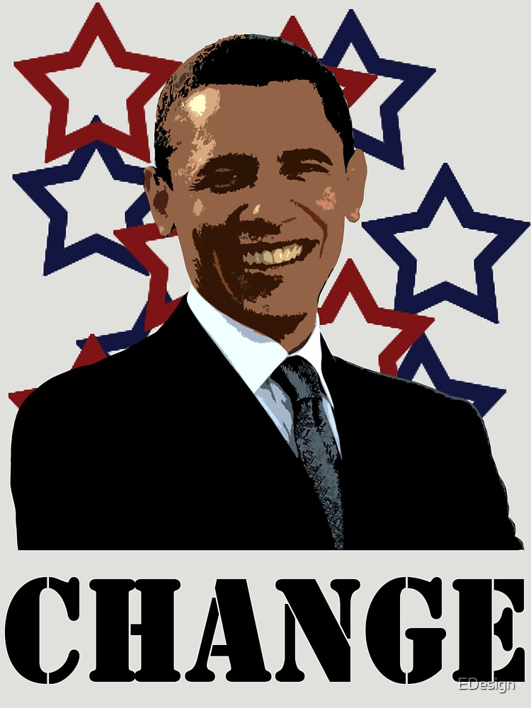 Obama change by EDesign