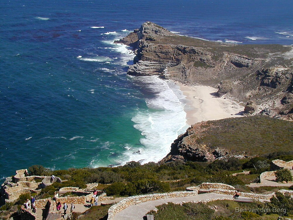 Cape Point by Ben van den Berg
