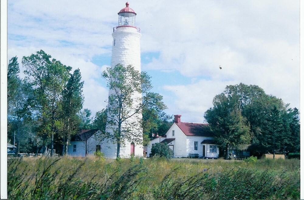 point clarks lighthouse by mizvicki