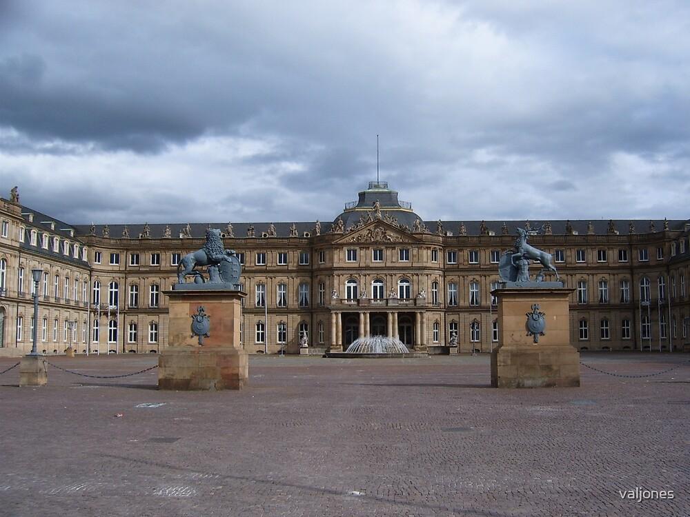 castle in Stuttgart by valjones