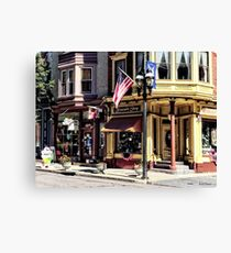 Jim Thorpe PA - Charming Downtown Canvas Print