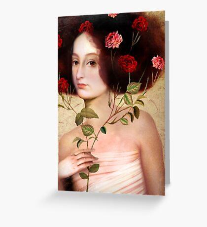 Der Blumenstrauss Greeting Card